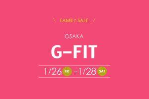 1/26-1/28 FAMILYSALE開催-大阪-