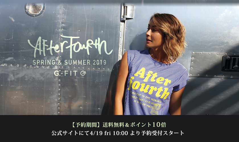4/19(金) G-FIT 5月新作 先行発売